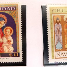 Sellos: SELLOS CHILE 1978. NAVIDAD. NUEVOS.. Lote 47835732