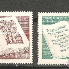 Sellos: LOTE B SELLOS CHILE NUEVOS SIN FIJASELLOS-TEMA BIBLIA CASIODORO DE REINA. Lote 191645891