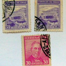 Sellos: LOTE DE SELLOS DE CHILE. Lote 49438728