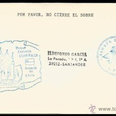 Sellos: CHILE - VELERO ESCUELA ESMERALDA. Lote 5701643
