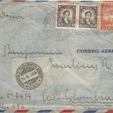Sellos: 1928-32 - HISTORIA POSTAL CORREO AÉREO - CHILE. Lote 52438448