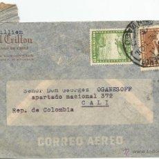 Sellos: HISTORIA POSTAL CORREO AÉREO - CHILE. Lote 52438502