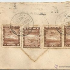 Sellos: HISTORIA POSTAL CORREO AÉREO - CHILE. Lote 52438527