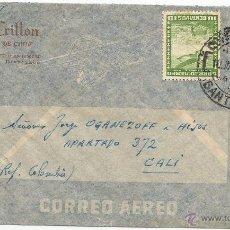 Sellos: HISTORIA POSTAL CORREO AÉREO - CHILE. Lote 52438562