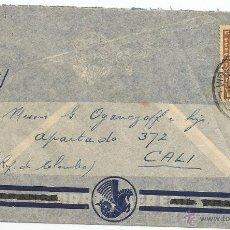 Sellos: HISTORIA POSTAL CORREO AÉREO - CHILE. Lote 52438569