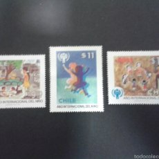 Sellos: SELLOS DE CHILE. YVERT 524/6. SERIE NUEVA.. Lote 52455195