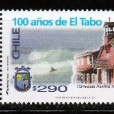 Sellos: CHILE. 2011. SERIE + VIÑETA. 100 AÑOS DE EL TABO. **. MNH. Lote 52807518