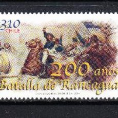 Sellos: CHILE 2046/47** - AÑO 2014 - BICENTENARIO DE LA BATALLA DE RANCAGUA. Lote 110606874