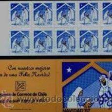 Sellos: CHILE 1997 CARNET NAVIDAD NUEVO LUJO COMPLETO MNH *** SC. Lote 54683919