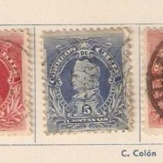 Sellos: CHILE. 1901-02. YVERT Nº 42 A 46. Lote 58109089