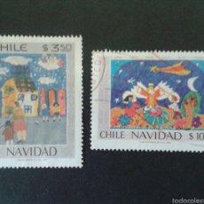 Briefmarken - SELLOS DE CHILE. NAVIDAD. YVERT 551/2. SERIE COMPLETA USADA. - 58208950