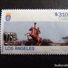 Sellos: CHILE 2014 275 AÑOS LOS ANGELES YVERT Nº 0000 º FU. Lote 62710984