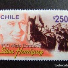 Sellos: CHILE 2007 CARDINAL RAUL SILVA HENRIQUEZ YVERT Nº 1745 º FU . Lote 62712080