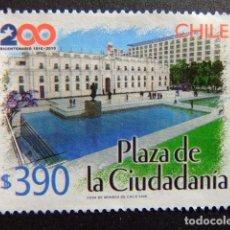 Sellos: CHILE 2006 BICENTENAIRE DE LA PLAZA DE CIUDADANIA YVERT Nº 1717 º FU . Lote 62712312