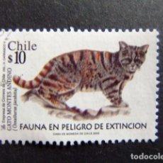 Sellos: CHILE 2002 FAUNE YVERT Nº 1636 º FU. Lote 62713460