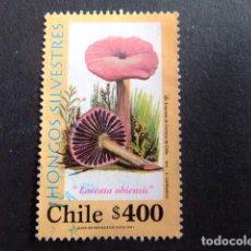 Sellos: CHILE 2001 FLORE CHAMPIGNONS YVERT Nº 1593 º FU . Lote 62713804