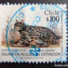 Sellos: CHILE 2001 FAUNE YVERT Nº 1585 º FU . Lote 62713936