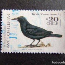 Sellos: CHILE 2000 FAUNA OISEAUX YVERT Nº 1516 º FU. Lote 62723284