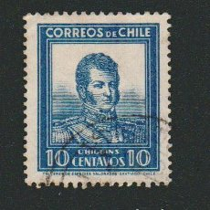 Sellos: CHILE.1931-32.-10 CENT.YVERT 151.USADO.. Lote 78054089