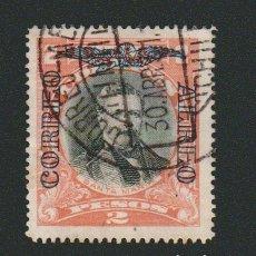 Sellos: CHILE.CORREO AÉREO.SELLO DE 1915-17.-HABILITADO.2 PESOS.YVERT 9.USADO.. Lote 78068857