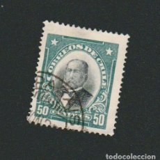 Sellos: CHILE.1915.27.-50 CENT.YVERT 120.USADO.. Lote 78069365
