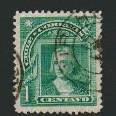 Sellos: CHILE.1905-1908.-1 CENT.YVERT 55.USADO. Lote 78260425
