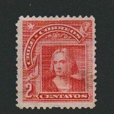Sellos: CHILE.1905-1908.-2 CENT.YVERT 56.USADO. Lote 78260545