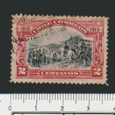 Sellos: CHILE.1910.-2 CENT.YVERT 72.USADO.. Lote 78261025