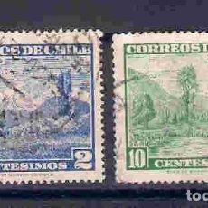 Sellos: PAISAJES DE CHILE. SELLOS AÑO 1961/2. Lote 81569112