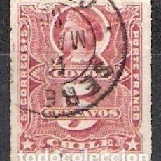 Sellos: CHILE 1877 - SCOTT 22 - USADO. Lote 98609703