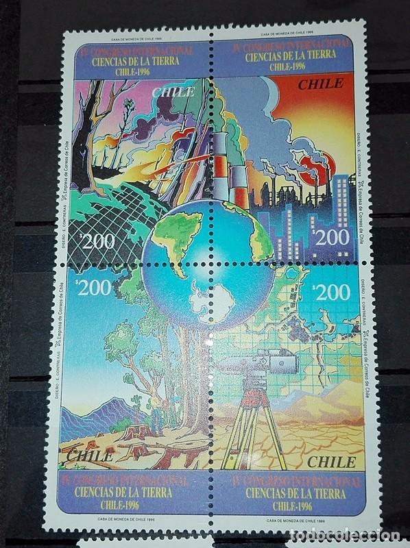 Sellos: COLECCIÓN 45 SELLOS Y SOBRE PRIMERA EMISIÓN CHILE. NUEVOS - Foto 6 - 100154743