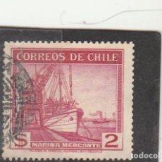 Sellos: CHILE 1939 - YVERT NRO. 176 - USADO. Lote 103532019