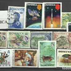 Sellos: LOTE DE SELLOS DE DOMINICA. Lote 116991355