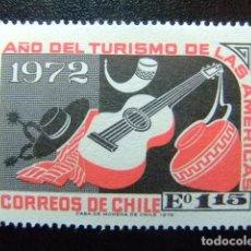Sellos: CHILE 1972 PRODUCTOS ARTESANOS TURISMO YVERT 392 ** MNH. Lote 118723303