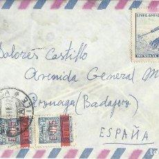 Sellos: CIRCULADO. CHILE - ESPAÑA.. Lote 122260019