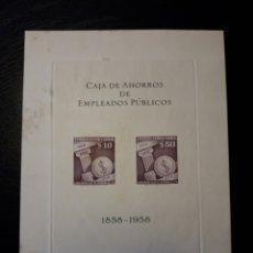 Sellos: CHILE. YVERT HB-4. SERIE COMPLETA NUEVA SIN CHARNELA. EMITIDA SIN GOMA. ALGUNAS MANCHAS. VER FOTOS. Lote 123803546