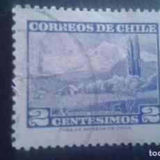Sellos: CHILE,1961-1962,VOLCAN CHOSHUENCO,YVERT 291,SCOTT 325,USADO,(LOTE AG). Lote 128346499