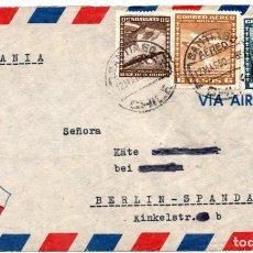 Sellos: CHILE, SOBRE A ALEMANIA, AÑO 1950. Lote 132562310