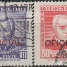 Sellos: LOTE 4 SELLOS CHILE. Lote 146528810