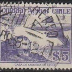 Sellos: LOTE 4 SELLOS CHILE AEREO. Lote 147480406