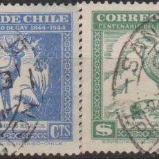 Sellos: LOTE 4 SELLOS CHILE FAUNA. Lote 147480694