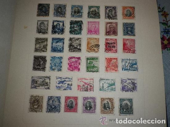 CHILE - LOTE DE 35 SELLOS USADOS (Sellos - Extranjero - América - Chile)