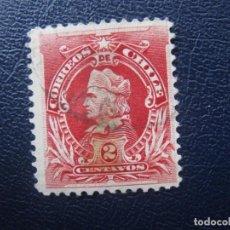Sellos: CHILE, 1901 CRISTOBAL COLON, YVERT 43. Lote 149577790