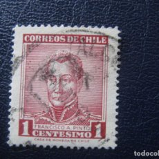 Sellos: CHILE, 1960 GENERAL F.A.PINTO, YVERT 281. Lote 149684882