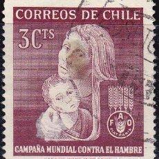 Sellos: 1963 - CHILE - CAMPAÑA MUNDIALCONTRA EL HAMBRE - YVERT 299. Lote 151529958