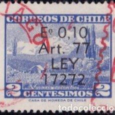 Sellos: 1970 - CHILE - TURISMO - VOLCAN CHOSHUENCO - YVERT 344. Lote 151571894