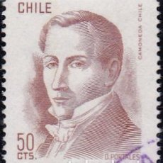 Sellos: 1975 - CHILE - DIEGO PORTALES - YVERT 460. Lote 151574766