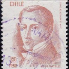 Sellos: 1976 - CHILE - DIEGO PORTALES - YVERT 475. Lote 151575110