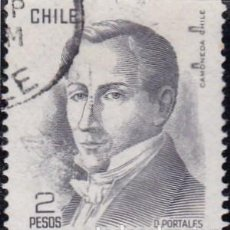 Sellos: 1977 - CHILE - DIEGO PORTALES - YVERT 476. Lote 151575406