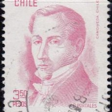 Sellos: 1979 - CHILE - DIEGO PORTALES - YVERT 517. Lote 151579982